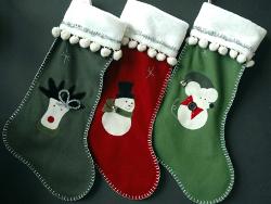 cute handmade christmas stockings - Handmade Christmas Stockings