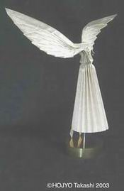 simple origami angel instructions.