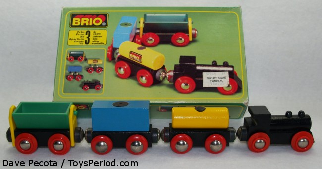 Vintage BRIO Train Collecting - Toy History - Ask Toy Tech