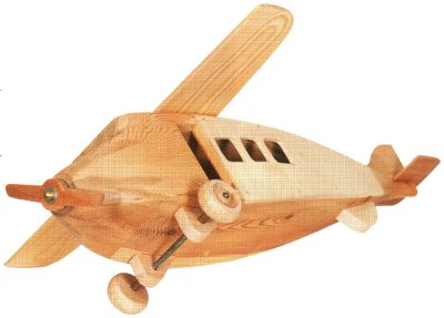 Wooden Toy Airplanes Cake Ideas and Designs