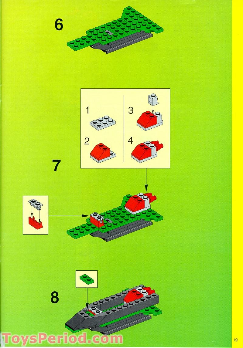 lego remote control instructions