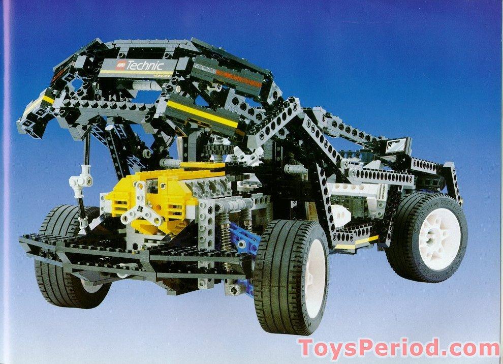 Lego 8880 Super Car Set Parts Inventory And Instructions Lego
