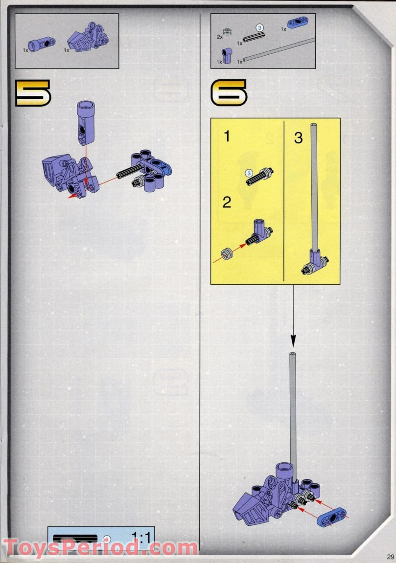 lego battle droid instructions