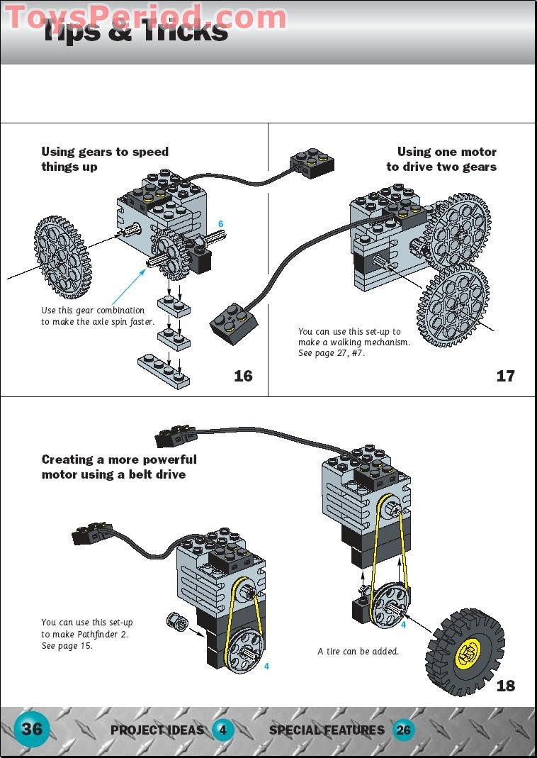lego rcx building instructions