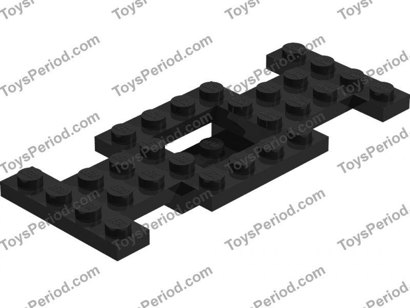 1x Lego 4212b Vehicle Base 4 x 10 x 2//3 w// 2 x 2 Recessed Center White