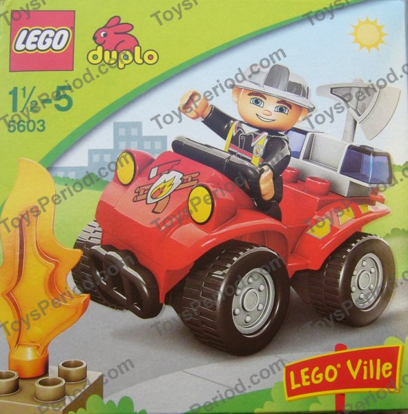 LEGO 5603 Fire Chief's Car Image 2
