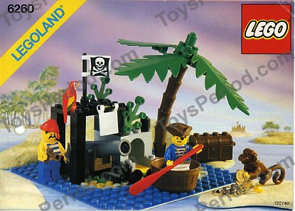 Lego 6260 Shipwreck Island Set Parts Inventory And Instructions Lego Reference Guide