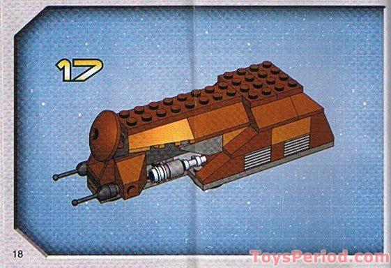 Lego Star Wars Mini Sets Instructions 8031