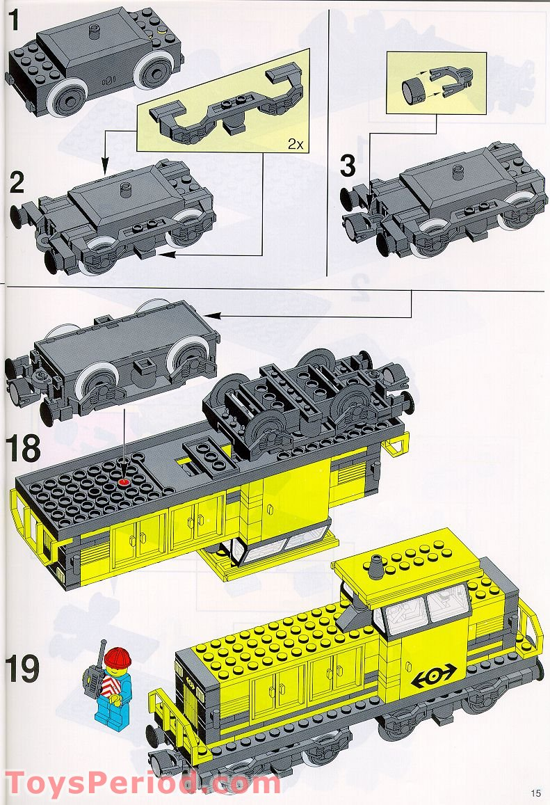 lego train control instructions