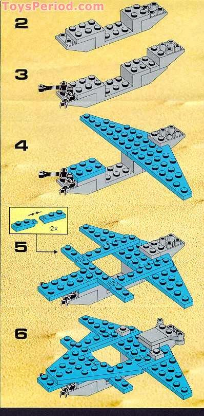 Lego 6872 Lunar Patrol Craft Set Parts Inventory And