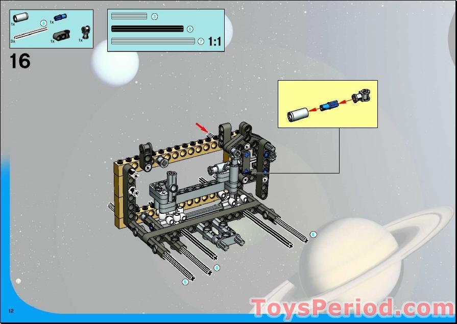 lego mars rover instructions