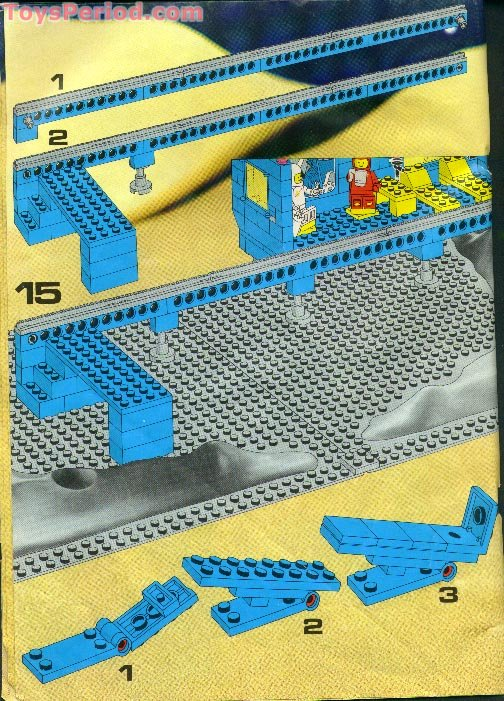 Lego 6970 Beta 1 Command Base Set Parts Inventory And Instructions