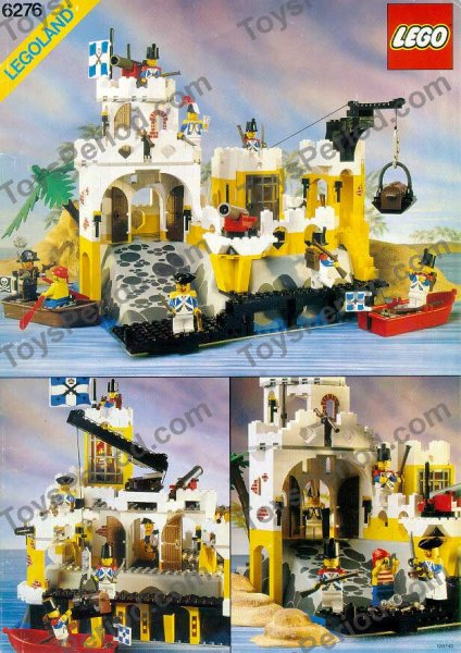 LEGO 6276 Eldorado Fortress Set Parts Inventory and ...