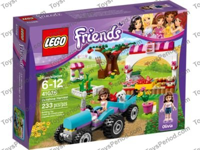 Lego 41026 Sunshine Harvest Set Parts Inventory And Instructions
