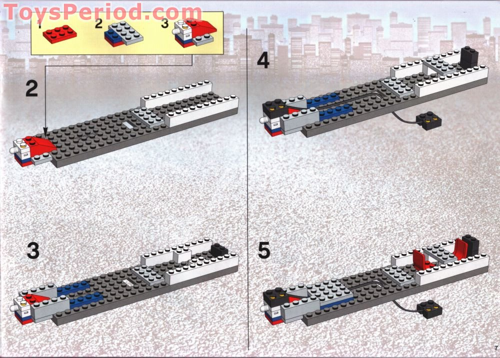 lego city high speed passenger train instructions