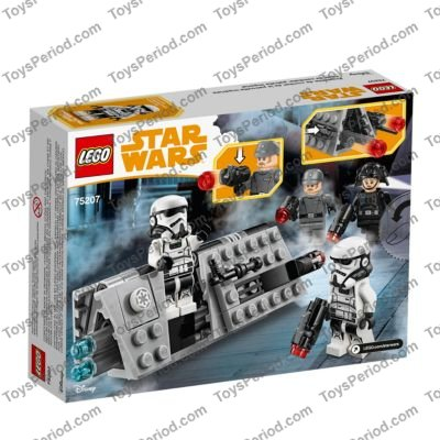 LEGO Emigration Officer Stud Blaster NEW Authentic Star Wars 75207 Minifigure