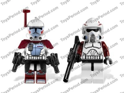 LEGO Star Wars Elite ARF Clone Trooper Minifigure With Long Rifle From Set 9488