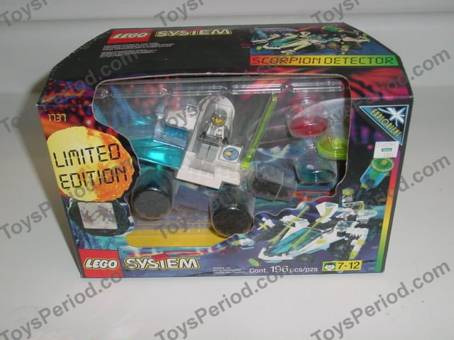 LEGO 1737 Scorpion Detector Set Parts Inventory and