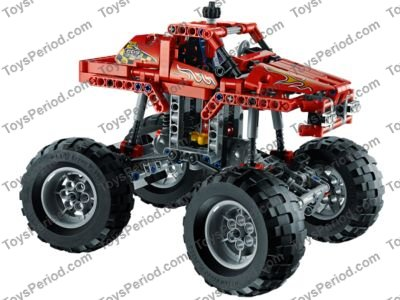 Lego 42005 Monster Truck Set Parts Inventory And Instructions Lego