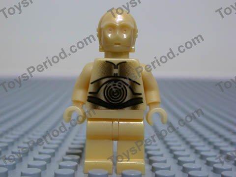 NEW SANDCRAWLER 10144 LEGO STAR WARS RARE 2005 C-3PO PEARL LIGHT GOLD HANDS