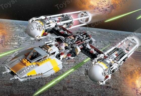 LEGO 10134 Y-Wing Attack Starfighter - Ultimate Collector Series UCS ...