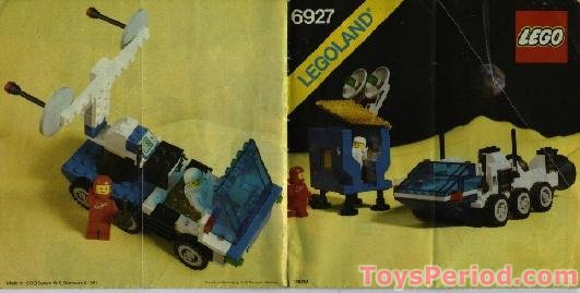 Lego 6927 All Terrain Vehicle Set Parts Inventory And Instructions
