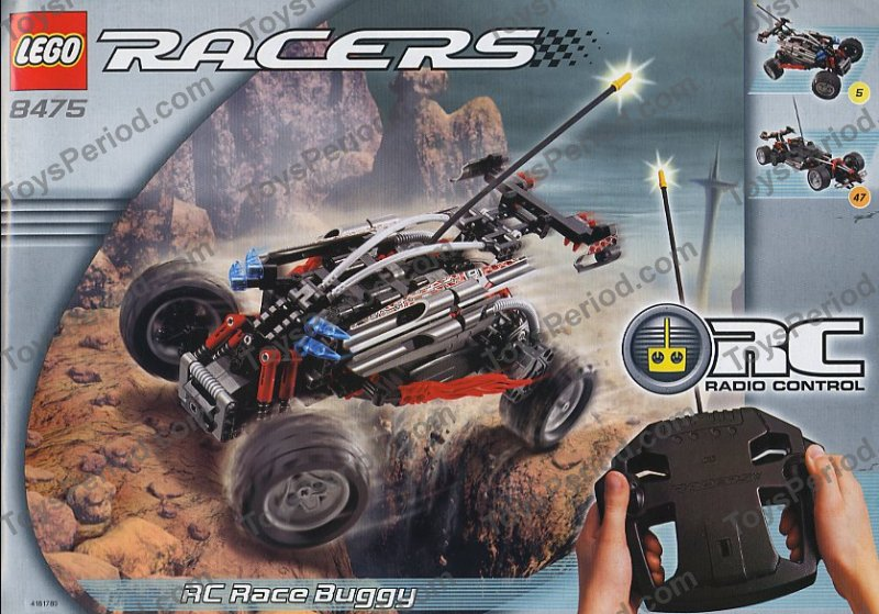 lego 8475 rc race buggy set parts inventory and instructions lego reference guide. Black Bedroom Furniture Sets. Home Design Ideas