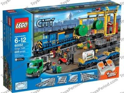 Lego 60052 Cargo Train Set Parts Inventory And Instructions Lego