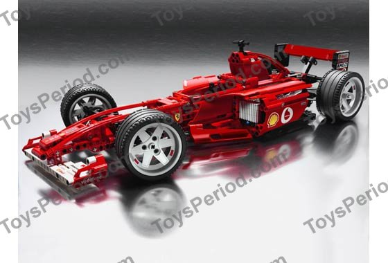 Lego 8386 Ferrari F1 Racer 110 Set Parts Inventory And Instructions
