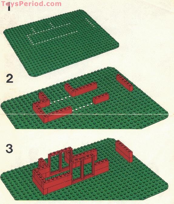 Lego 555 1 Hospital Set Parts Inventory And Instructions Lego