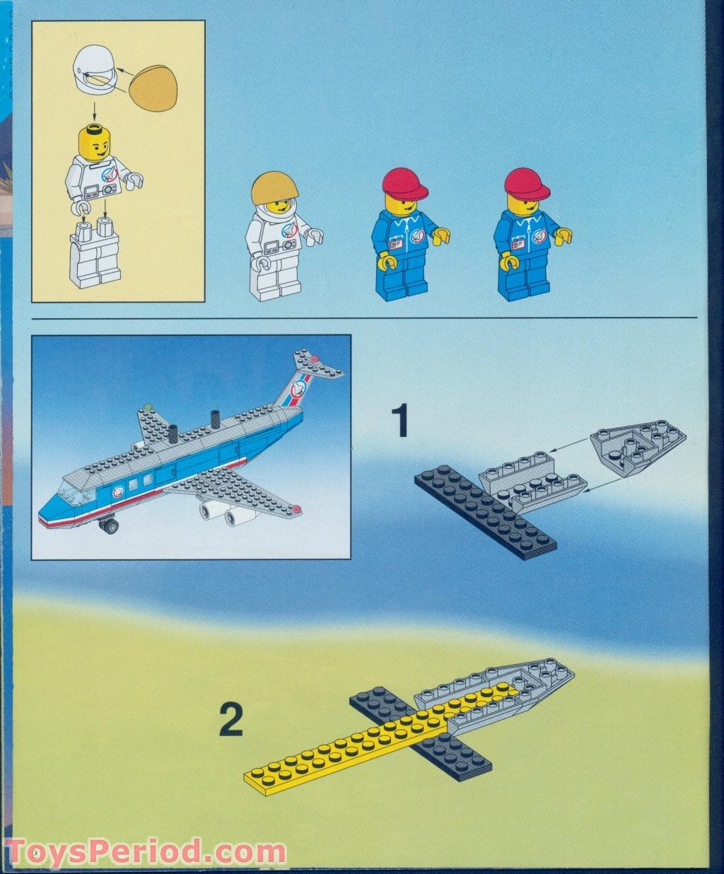 LEGO 1 X PLAQUE ailes Shuttle 6219 Noir 16x14 6979 6915 6544