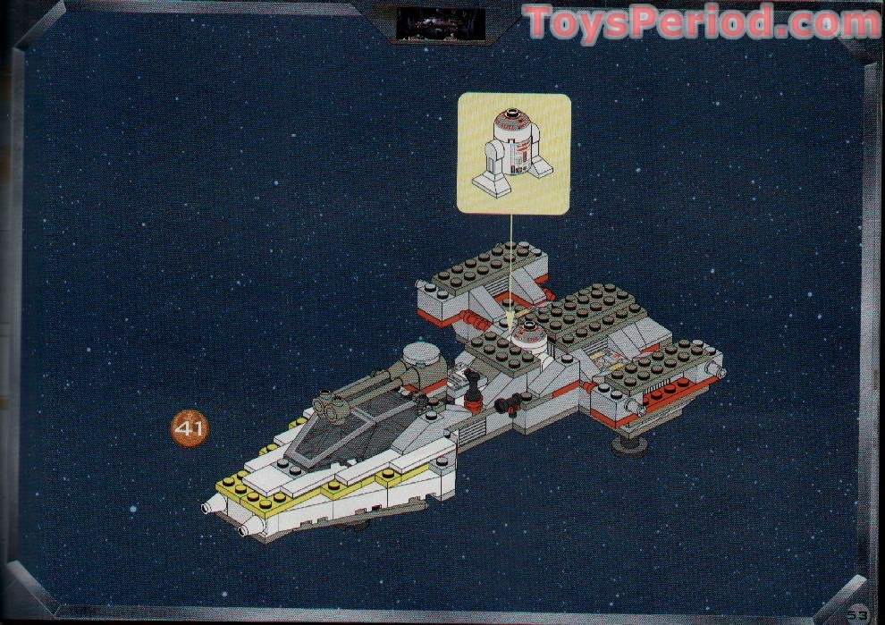 lego y wing instructions 7150