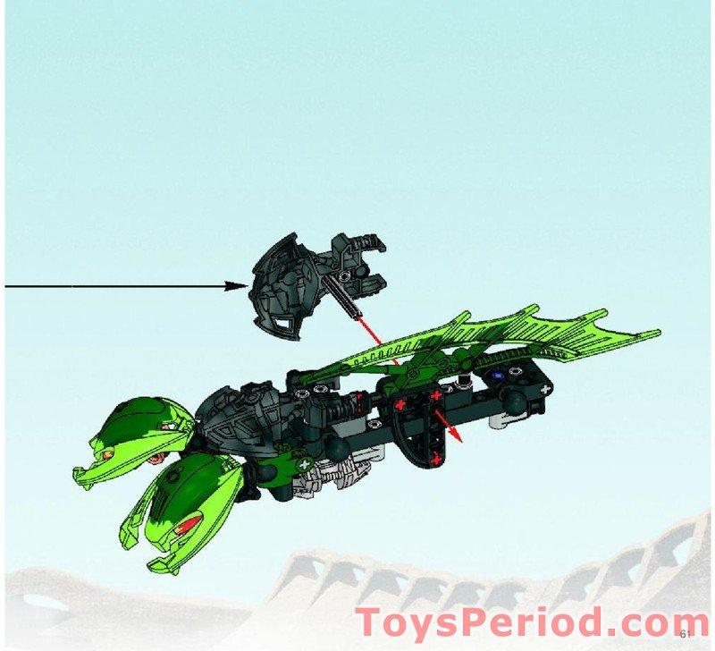 Mistika Bitil Longsword 61799 Pearl Light Grey LEGO BIONICLE Weapon