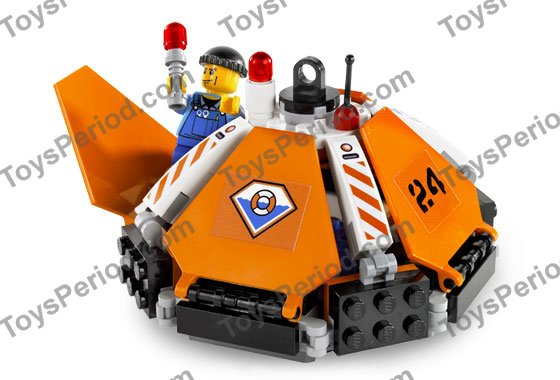 LEGO 7738 Coast Guard Helicopter and Life Raft Image 5
