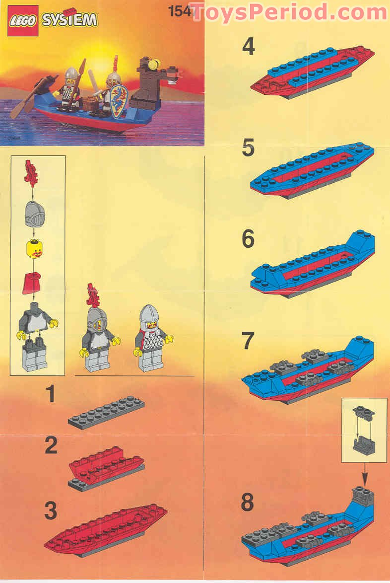 Black Knight's Boat Free Instruction Page 1