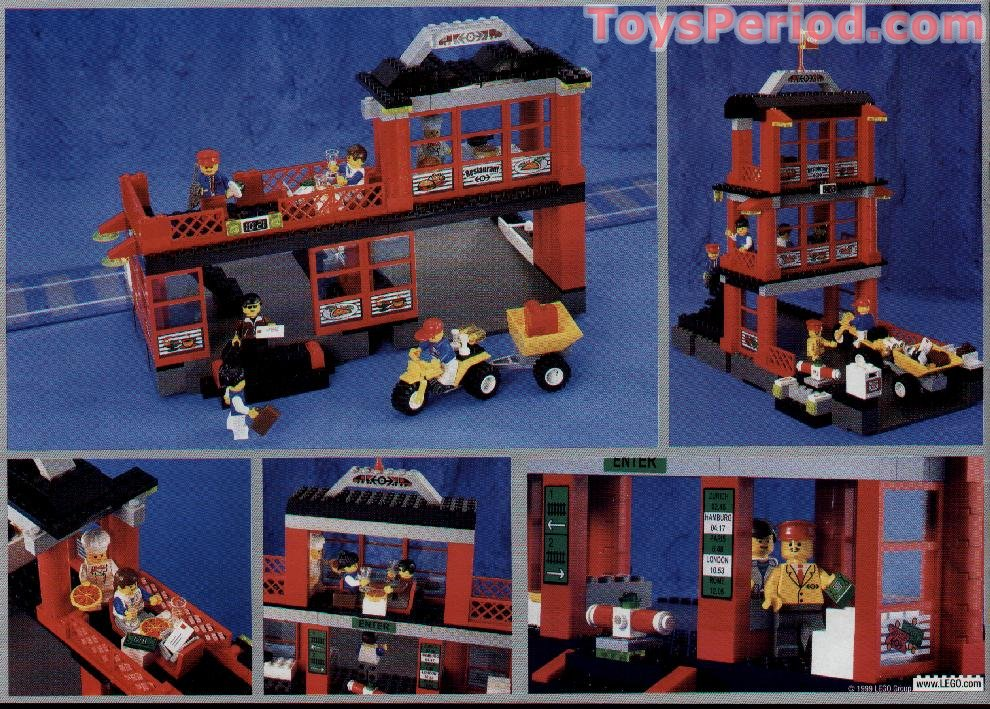Lego 4556 Train Station Set Parts Inventory And Instructions Lego