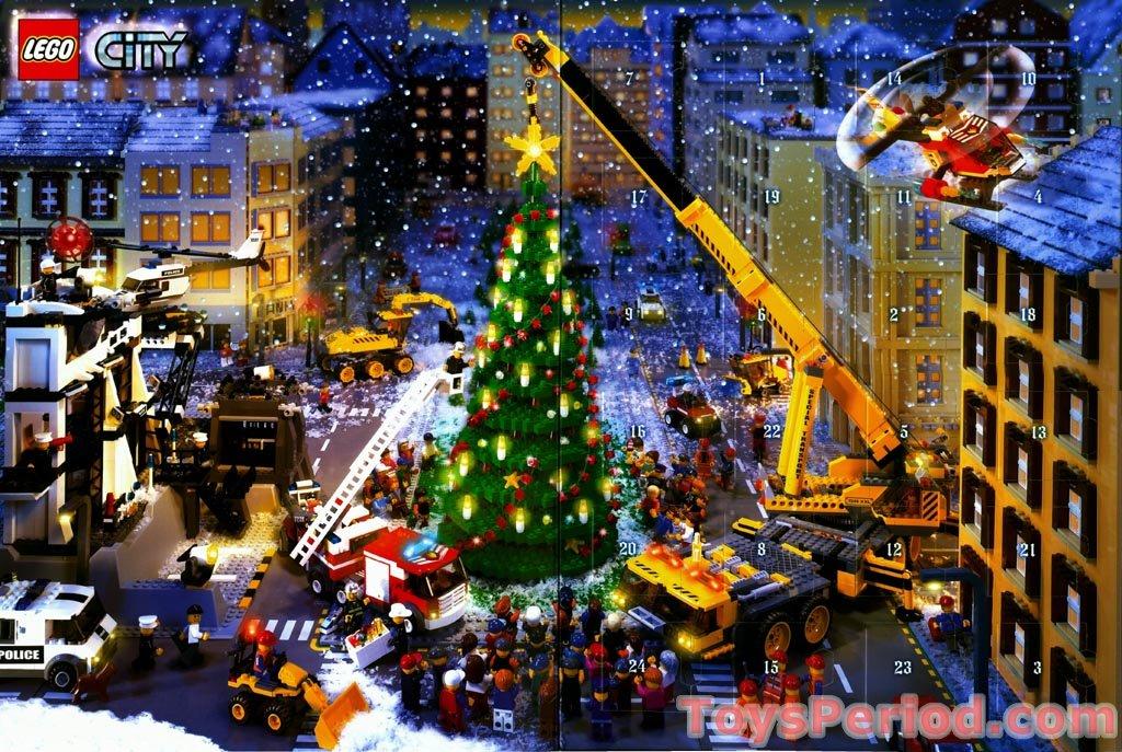 Lego 7324 1 Advent Calendar 2005 City Set Parts Inventory And