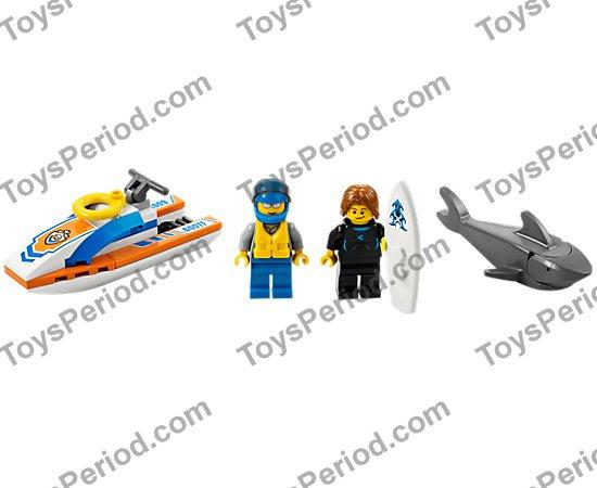 Life Preserver LEGO 30340 White Minifigure Utensil Flotation Ring