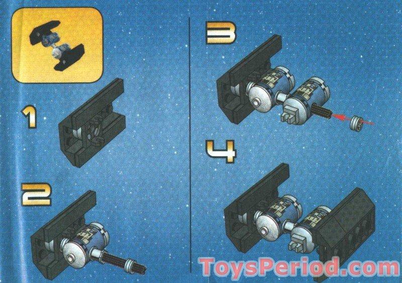 lego star wars mini slave 1 instructions