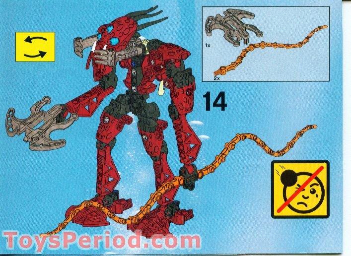 complete Kalmah LEGO Bionicle Barraki 8917
