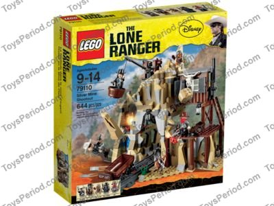 LEGO  LONE RANGER CHIEF BIG BEAR DUEL HEAD  MINIFIGURE NEW