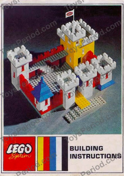 Lego 00 1 Weetabix Castle Set Parts Inventory And Instructions