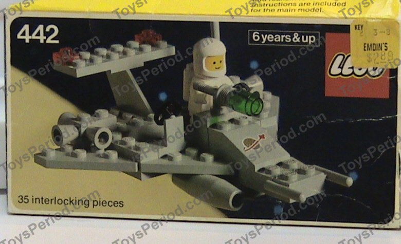 Old Lego Space Shuttle Instructions