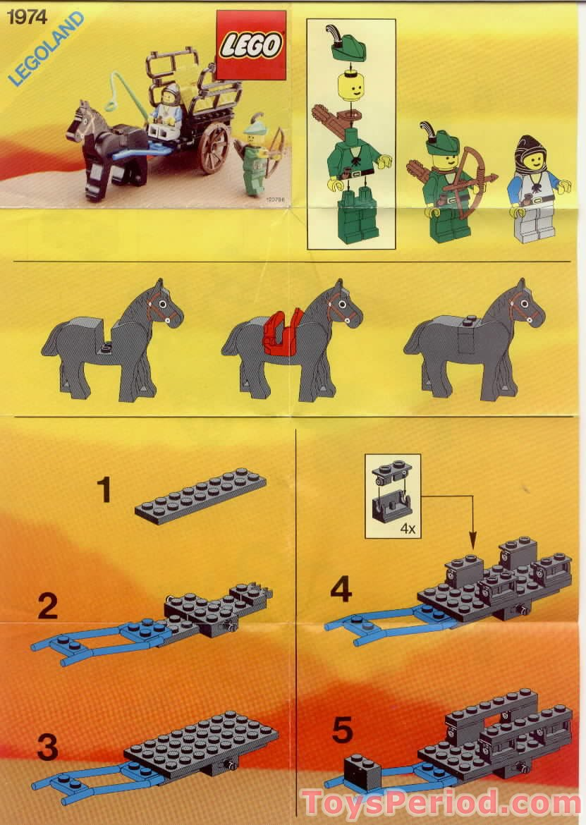 Lego 1974 3 Smugglers Hayride Set Parts Inventory And Instructions
