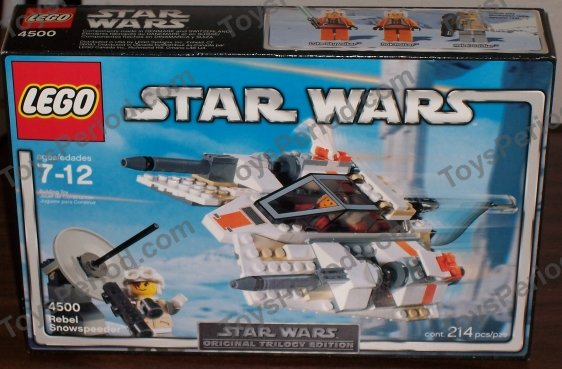 lego snowspeeder instructions 4500