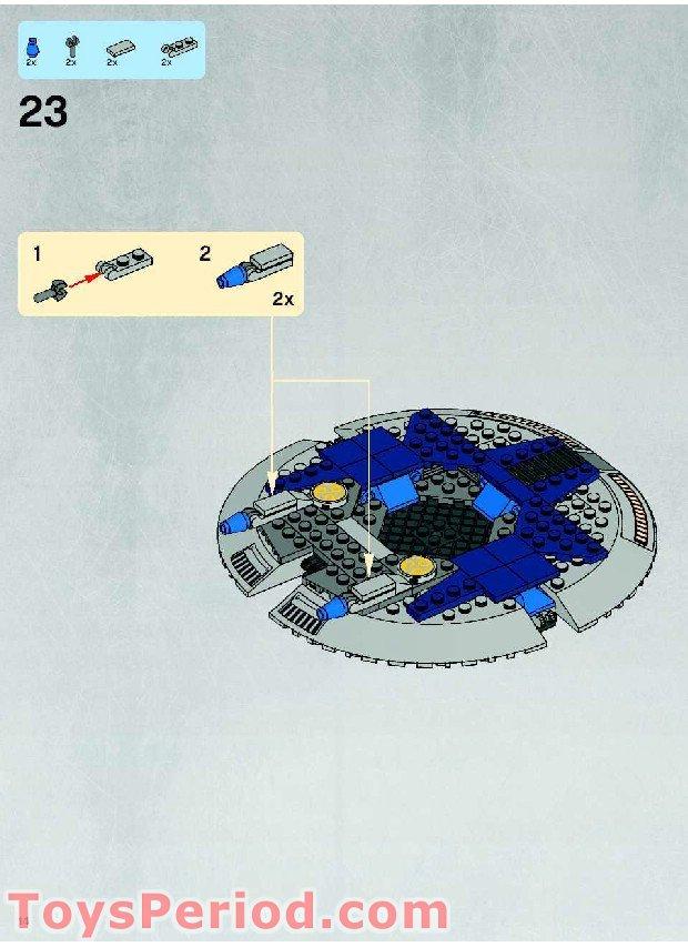 lego star wars droid gunship instructions