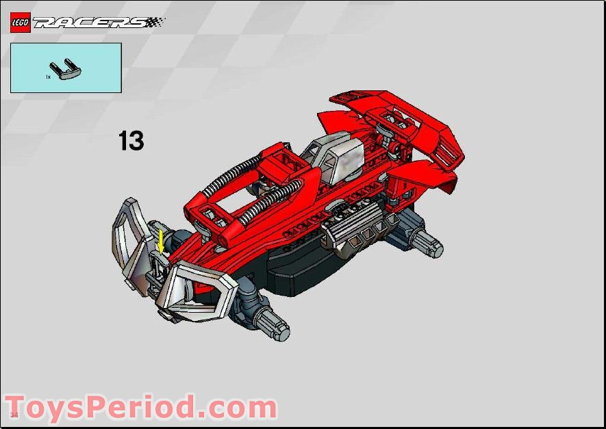 lego rc car instructions