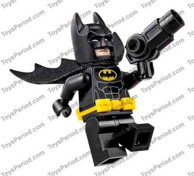Batman gun Blaster w// Studs on Side Axle Holder x 1 Weapon NEW LEGO
