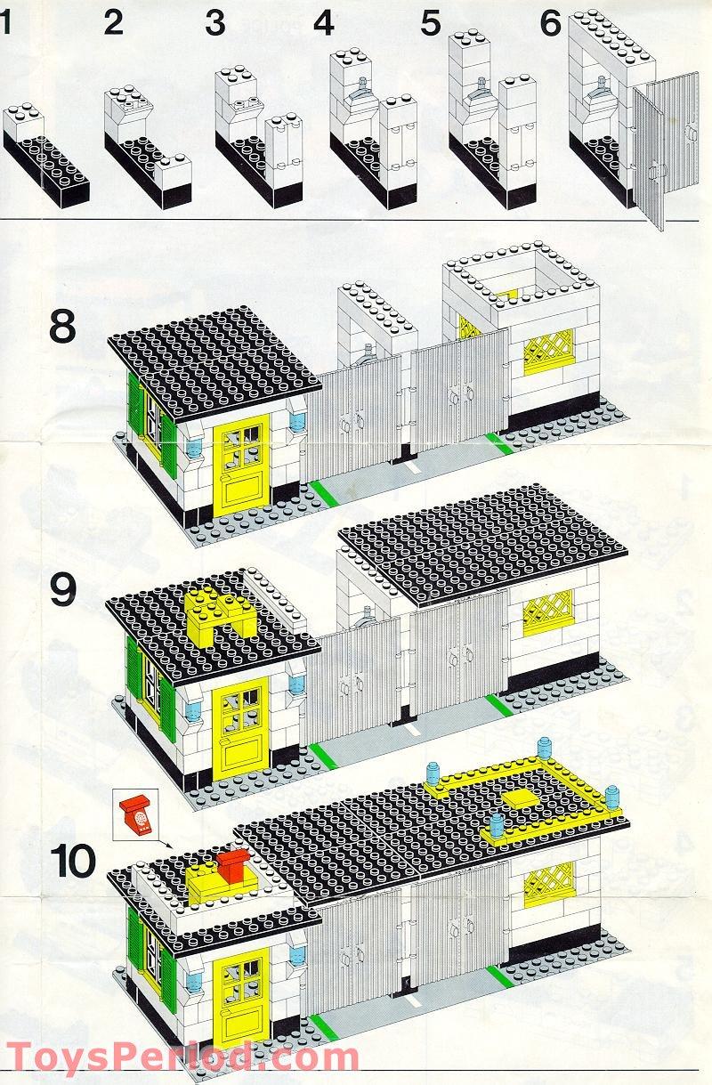 LEGO 381-2 Police Stat...