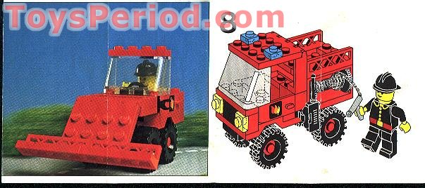 Lego 6650 Fire And Rescue Van Set Parts Inventory And